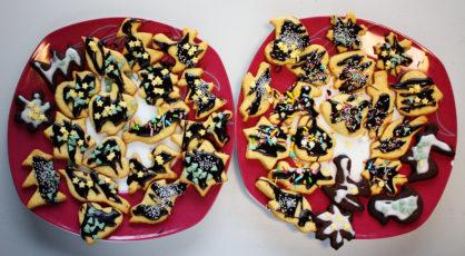 Wirtualne warsztaty kulinarne prezentuj Czarne i biae ciasteczka