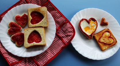 Warsztaty kulinarne online prezentuj walentynkowe niadanie