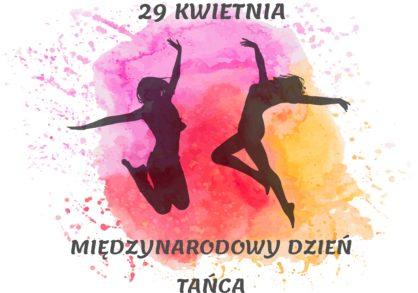 plakat przedstawiajcy tancerki 29 kwiecie Midzynarodowy Dzie Taca