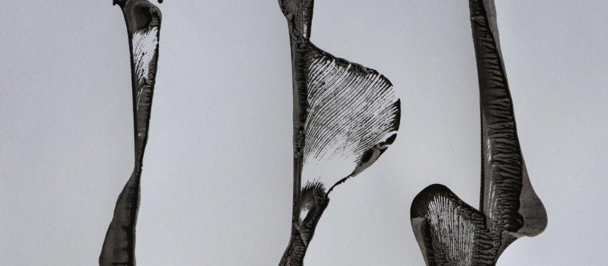 Czarno biaa abstrakcja II