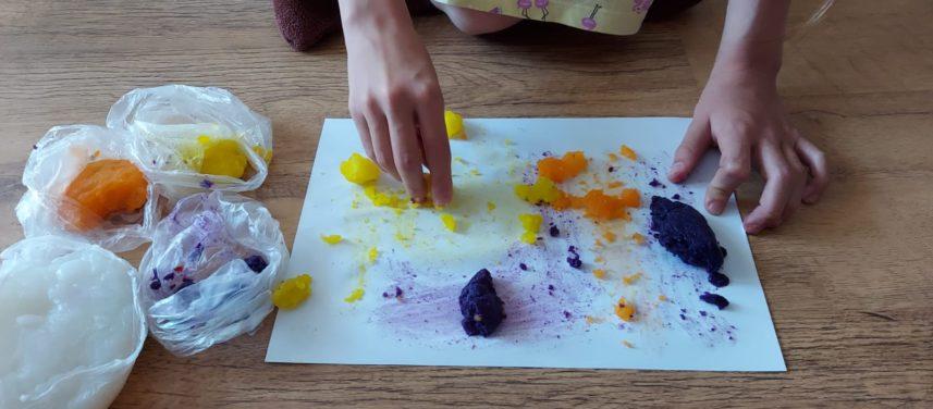 Malowanie palcami z dziemi